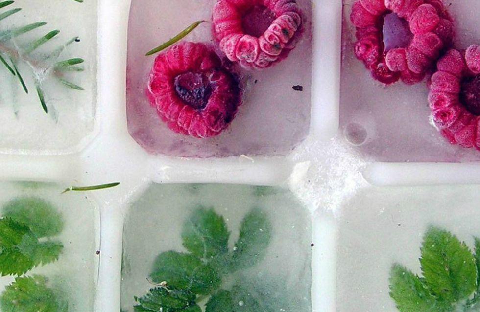 Já conhece o gelo detox? Aprenda a fazer a nova 'nutrimoda' em casa