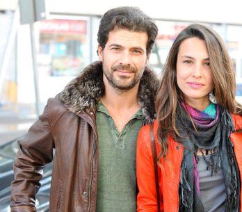 Rodolfo Sancho y Xenia Tostado, padres de una niña