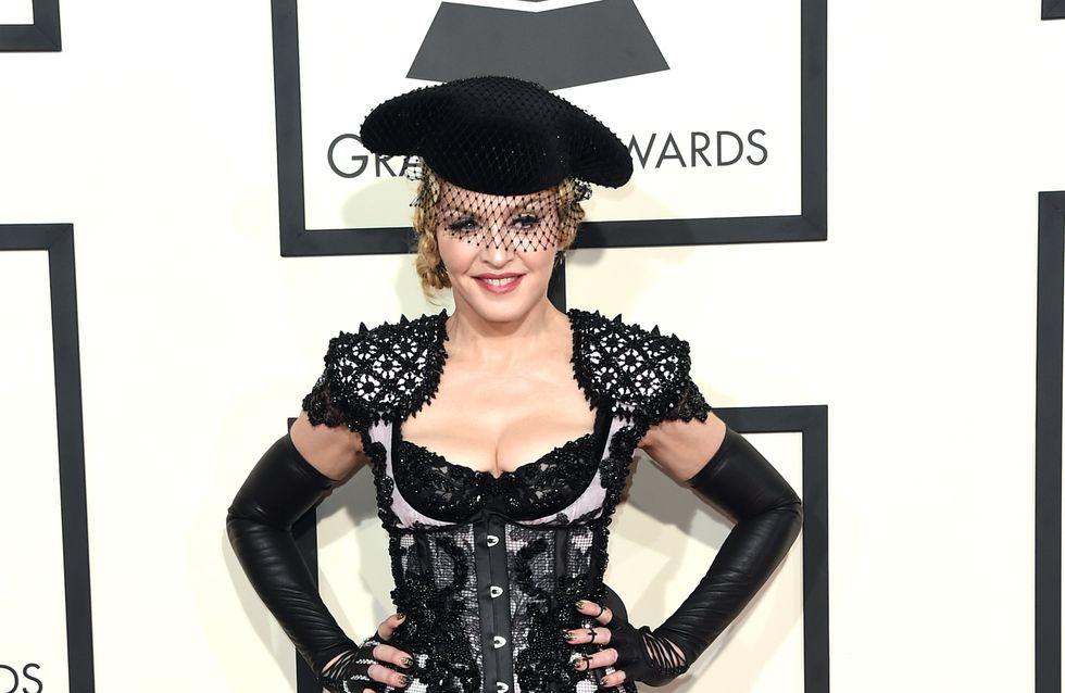 Madonna revendique le droit de montrer son corps sur scène