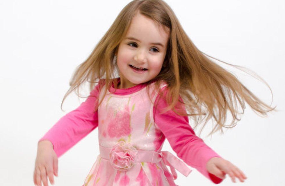 Cette petite fille de 4 ans a décidé de donner ses cheveux à une enfant malade
