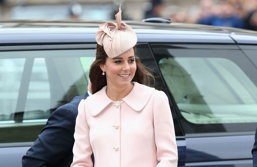 Kate Middleton recycle l'une des tenues de sa première grossesse