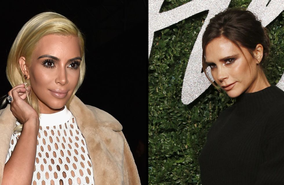 Kim Kardashian bientôt habillée par Victoria Beckham ?