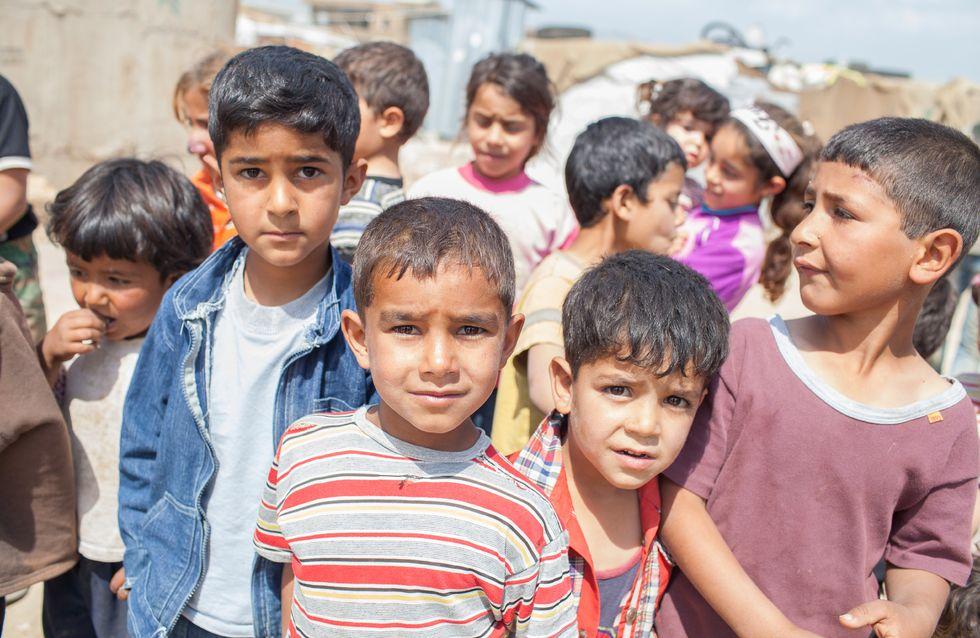Zara offre 800 000 euros de vêtements aux réfugiés syriens au Liban
