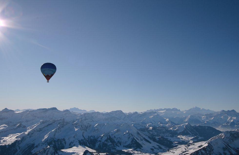 Un survol en montgolfière d'une de nos plus belles régions