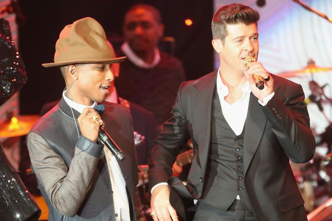 Pharrell Williams & Robin Thicke