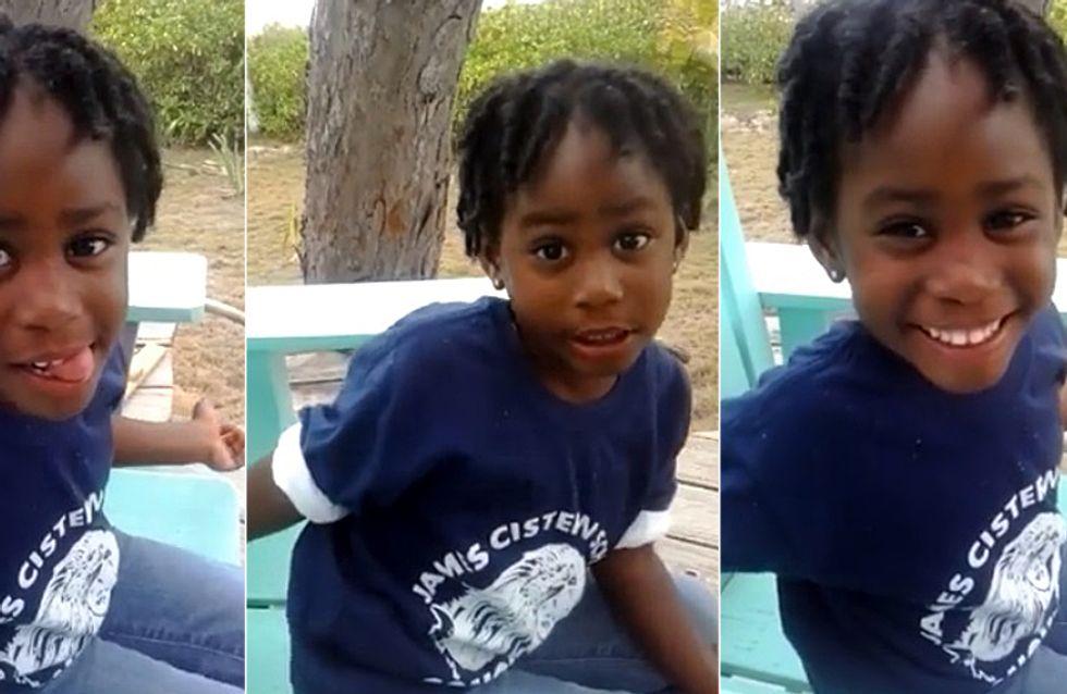 Ein Junge nannte die 4-Jährige hässlich - ihre schlagfertige Antwort wird dich beeindrucken