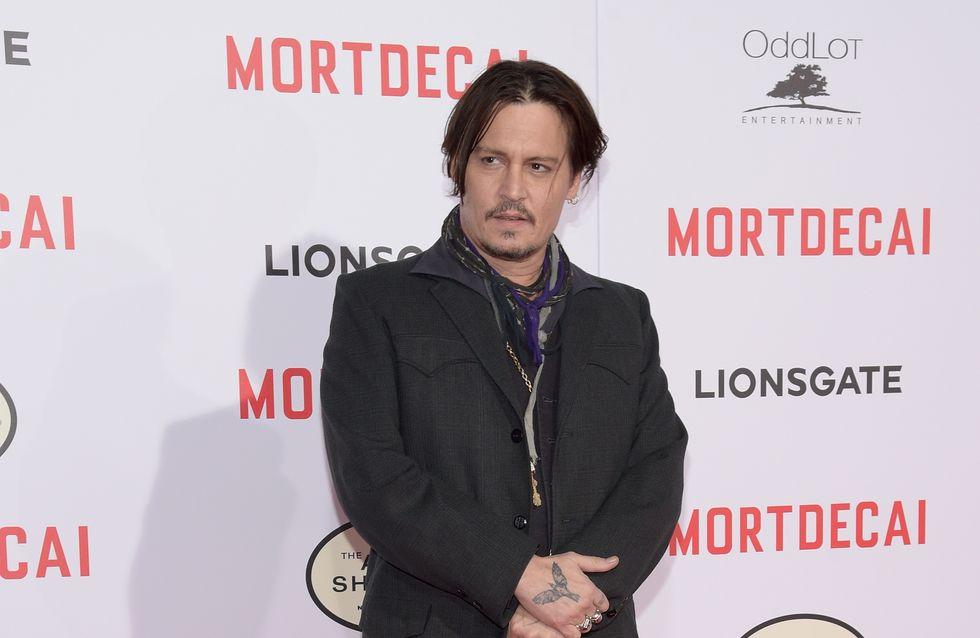 Johnny Depp blessé sur le tournage de Pirates des Caraïbes 5