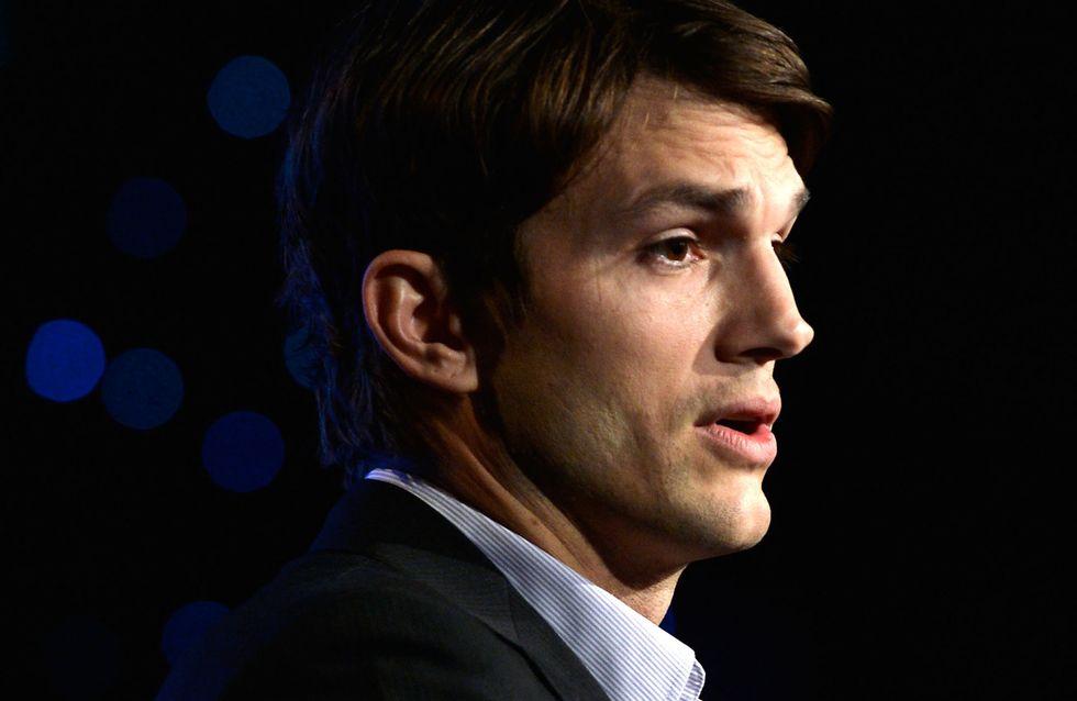 Ashton Kutcher milite pour la présence de matériel pour les bébés dans les toilettes pour hommes