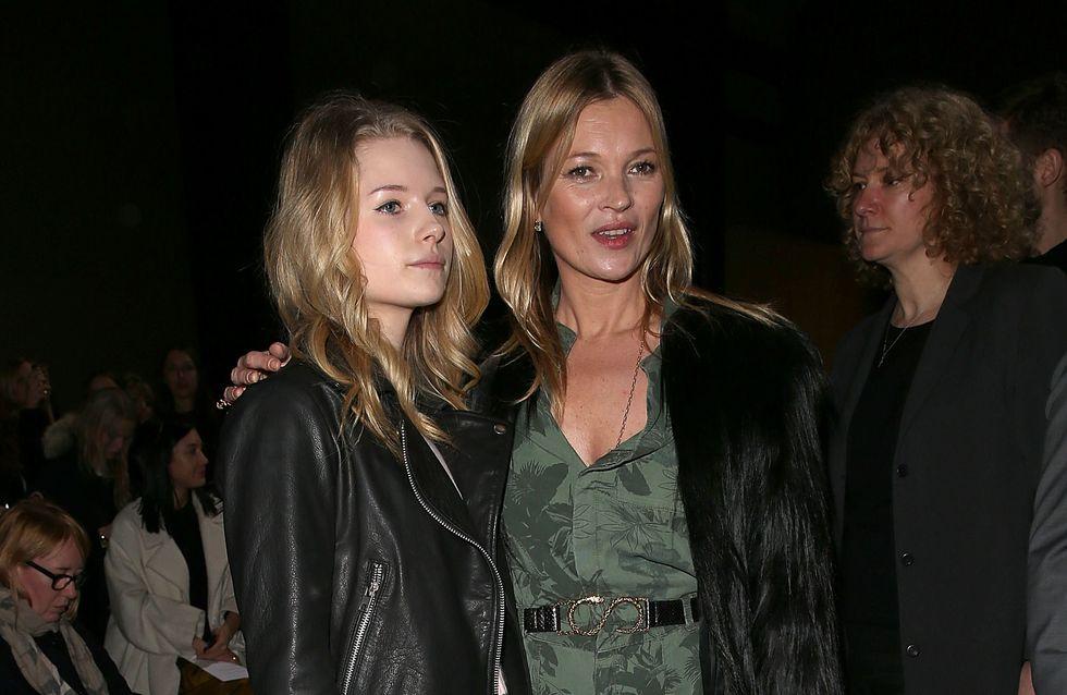 Lottie, la sœur de Kate Moss, fait ses premiers pas à la Fashion Week