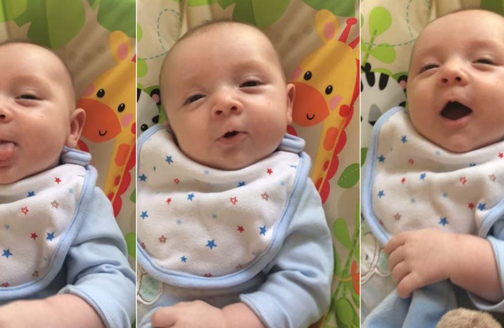 Baby 7 Wochen Beschäftigen