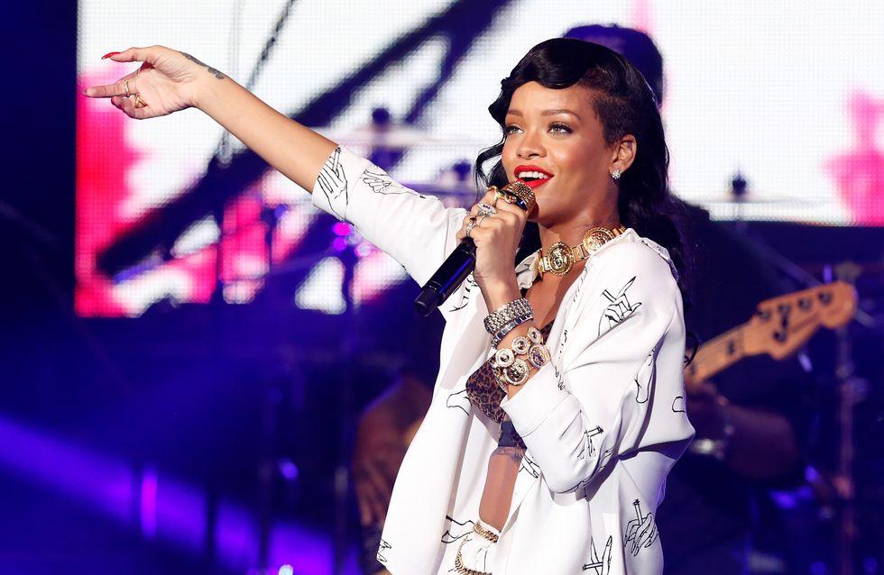 Rihanna, l'artiste féminine la plus écoutée au monde