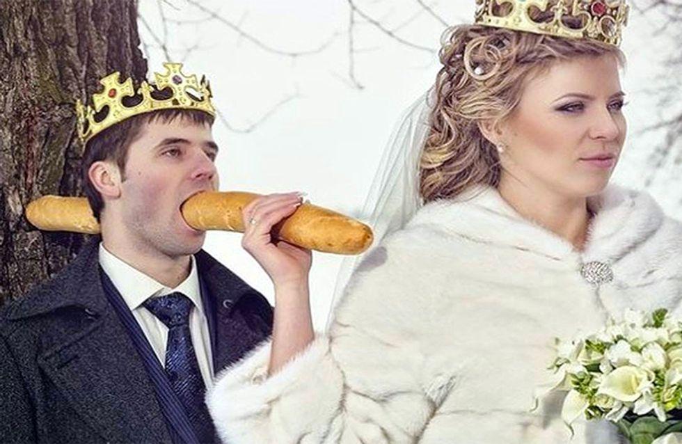 DEU RUIM! As 30 piores fotos de casamentos na Rússia