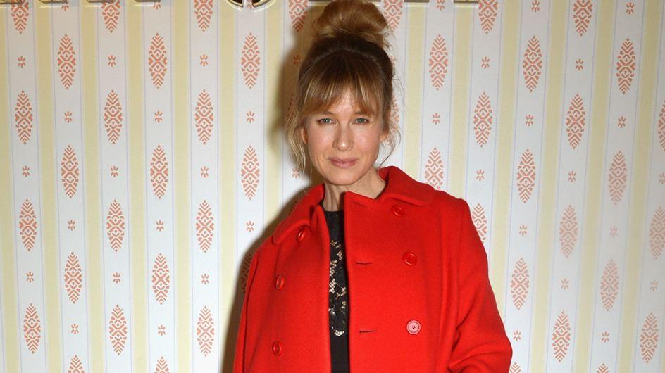 Renée Zellweger reaparece en Paris con un rostro... ¿mejorado?