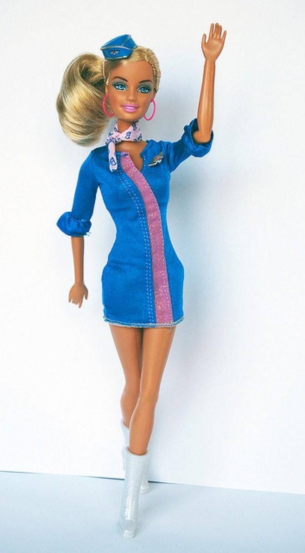 Barbie® hôtesse de l'air