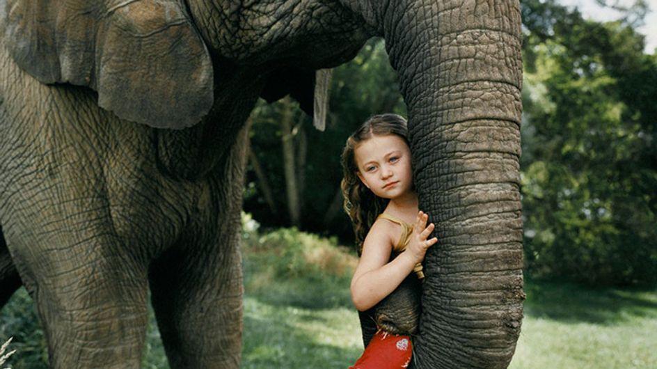 La complicité de cette petite fille avec les animaux va vous laisser bouche bée (Photos)