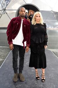 Kanye West et Kim Kardashian.