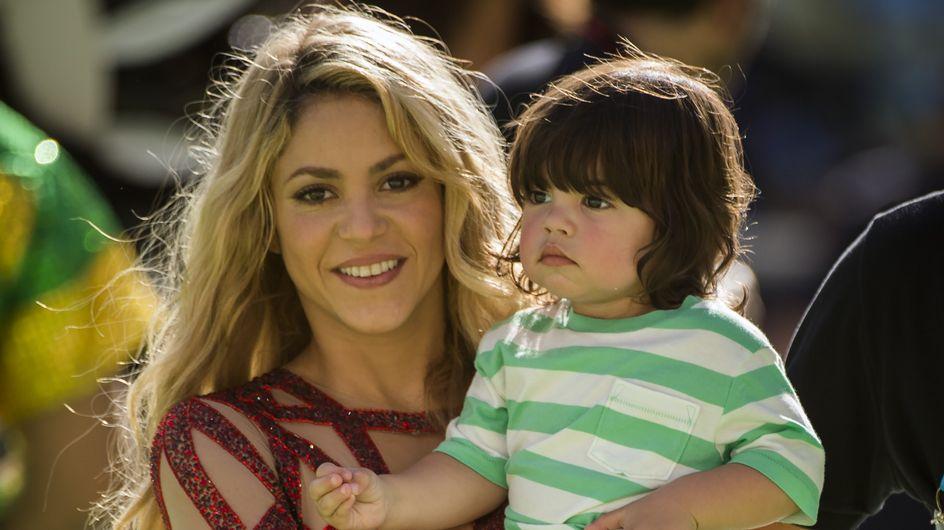 Shakira, prof attentive avec son fils Milan (Vidéo)