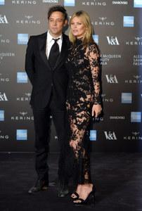 Jamie Hince et Kate Moss.