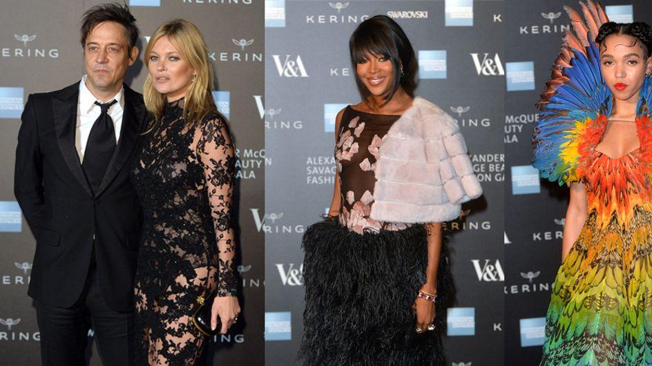 Kate Moss, Naomi Campbell, FKA Twigs... Les tops et flops de la soirée Alexander McQueen (Photos)