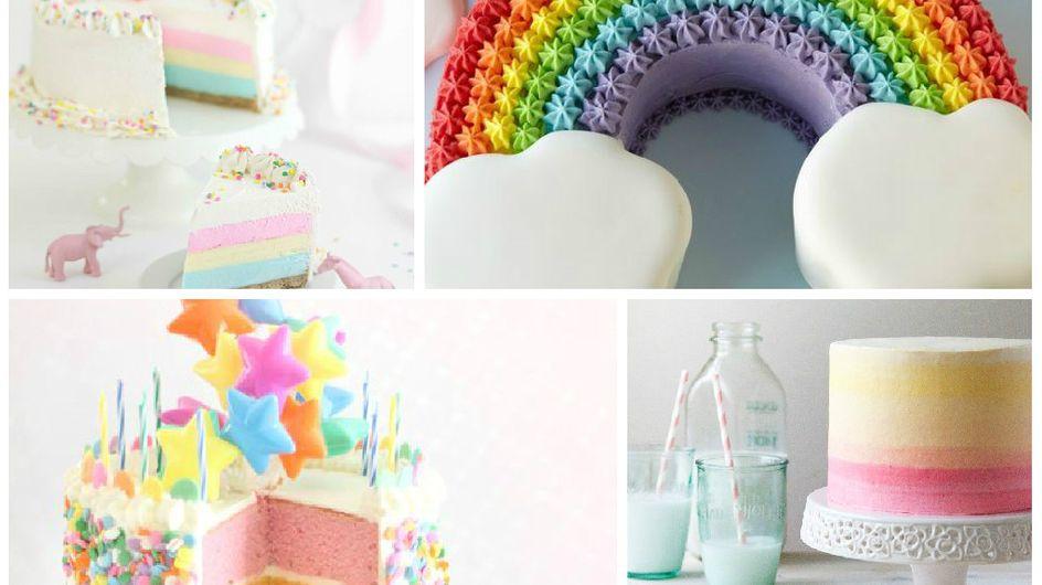 Les 15 rainbow cakes de Pinterest qu'on voudrait dévorer