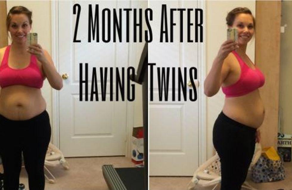 Cette maman a décidé d'assumer son corps d'après grossesse
