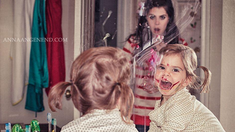 Estas fotos vão te convencer de que cuidar de uma criança pequena é um grande desafio