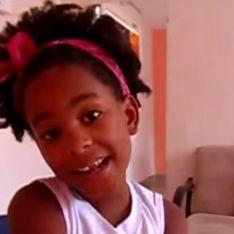 Menina de 8 anos defende a beleza negra em vídeos inspiradores