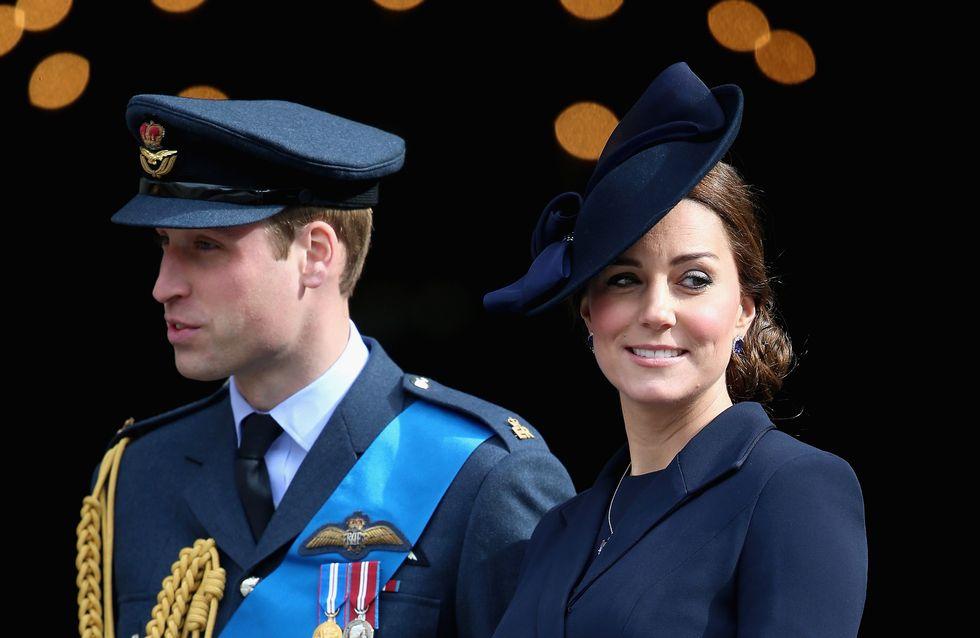 Kate Middleton en total look navy pour l'une de ses dernières apparitions (Photos)