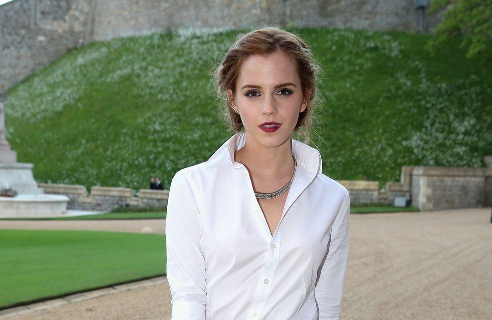 Emma Watson terrifiée à l'idée de tourner La Belle et la Bête
