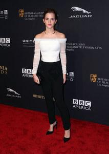 Emma Watson sur le tapis rouge.