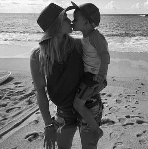 Hilary Duff & son fils