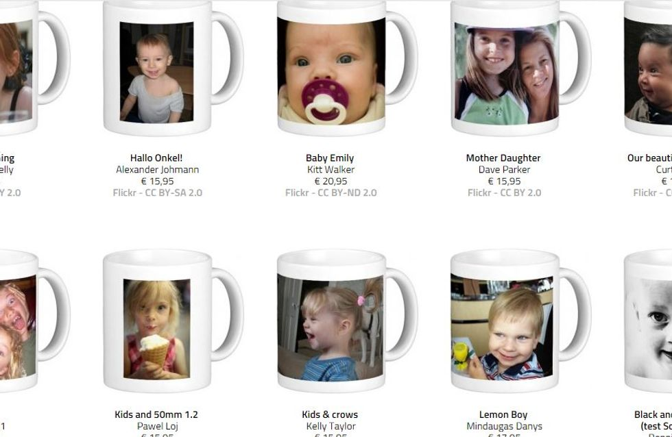 Attention, la photo de votre enfant est peut-être sur ces mugs !