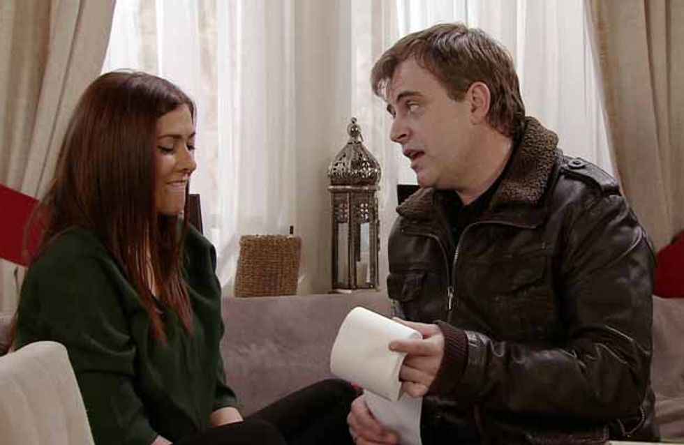 Coronation Street 25/03 - Steve has a proposition for troubled Michelle