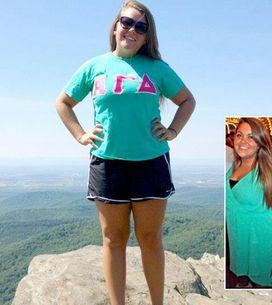 Geschafft! Caitlin hat 25 Kilo abgenommen - trotz einiger Höhen & Tiefen