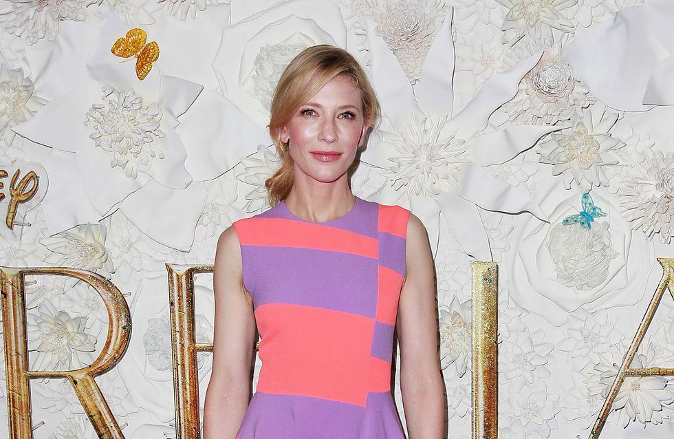 Cate Blanchett parle de l'adoption de sa fille