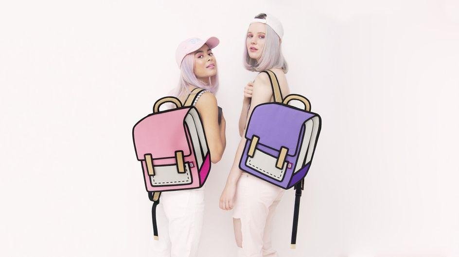 Jum From Paper: mochilas y bolsos que parecen dibujos animados