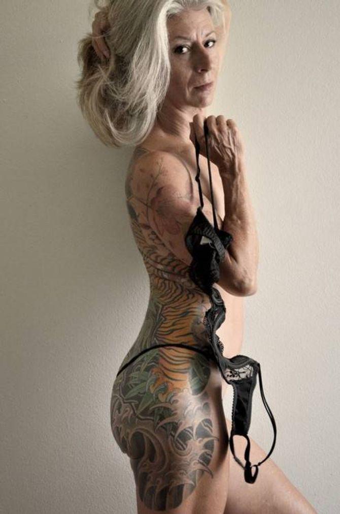 Ces clichés prouvent qu'il n'y a pas d'âge pour un tatouage