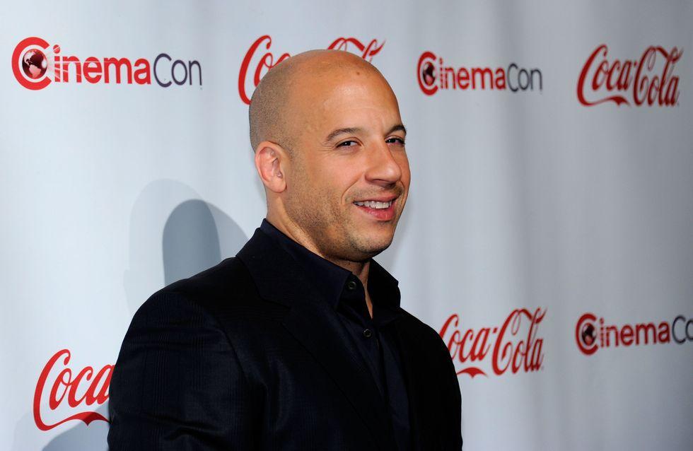 Vin Diesel, heureux papa pour la troisième fois (Photo)