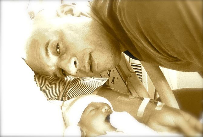 Vin Diesel et sa petite fille
