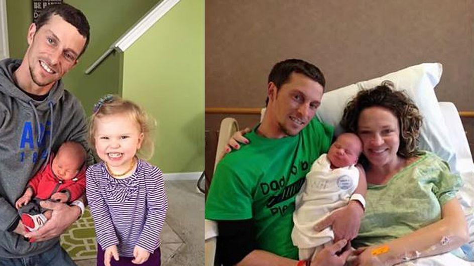 Eigentlich freuten sie sich auf die Geburt ihrer zweiten Tochter - doch im Kreisssaal geschah das Undenkbare