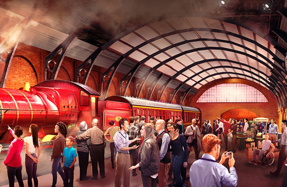 Why The Hogwarts Express At Warner Bros. Studio Tour Is Every Potter Fan's Dream Come True