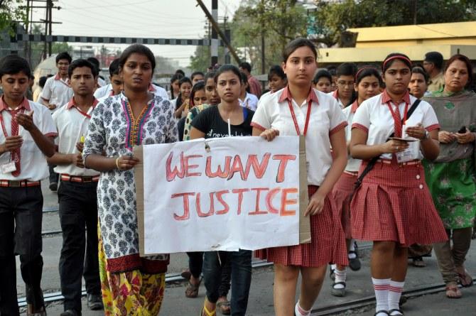 Manifestations en Inde