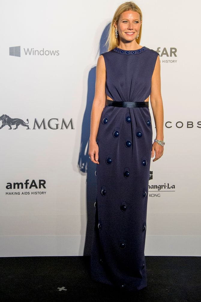 Gwyneth Paltrow au gala amFar.