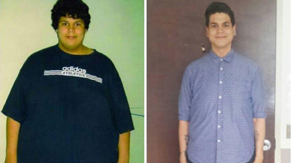 Er möchte sich nicht mehr verstecken: So sieht ein Körper nach 135 kg Gewichtsverlust WIRKLICH aus