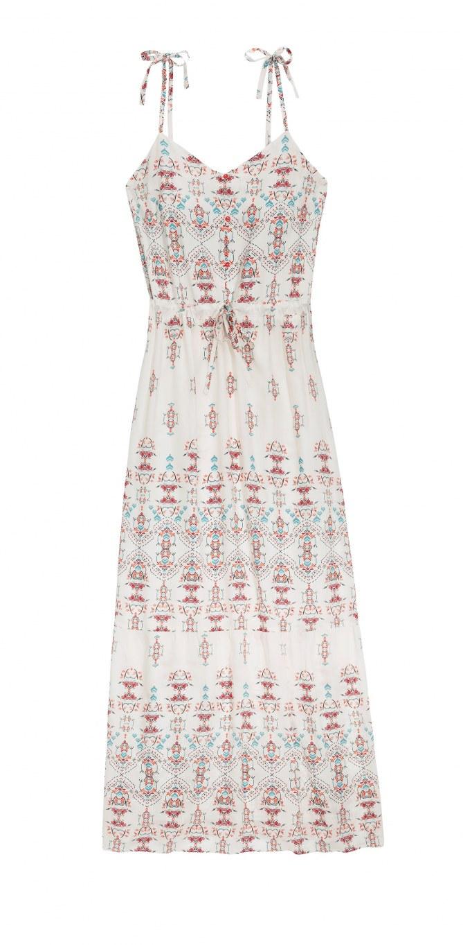 La robe Etam.