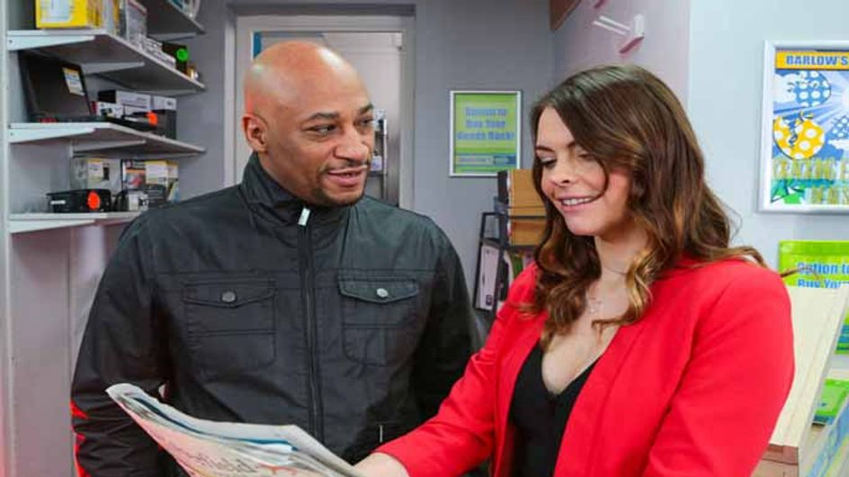 Coronation Street 29/03 - Steve and Michelle are caught in the ring cycle