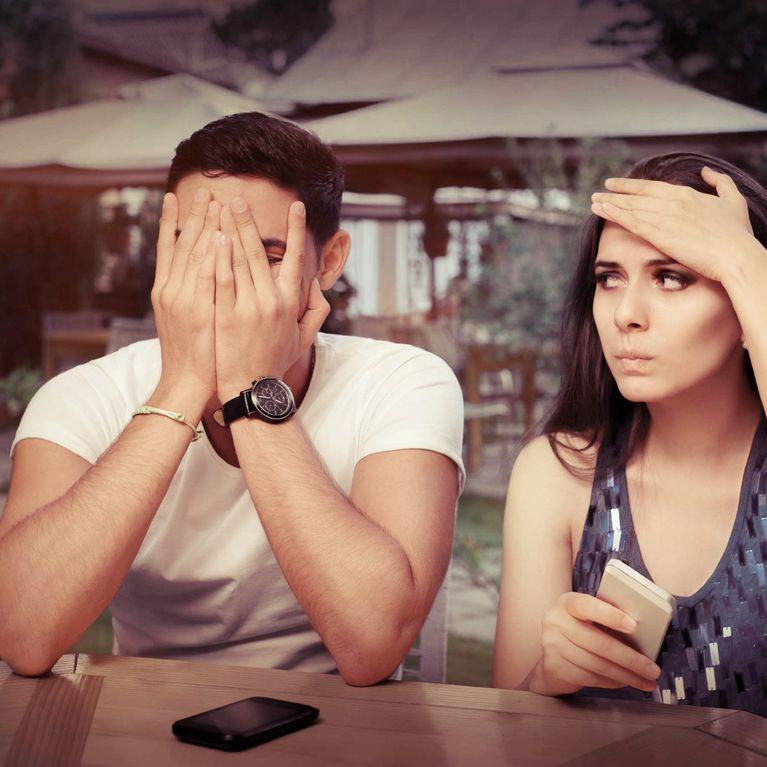Unangenehme Dating-Fragen