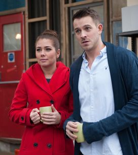 Hollyoaks 02/04 - Tegan has to cover her heartbreak