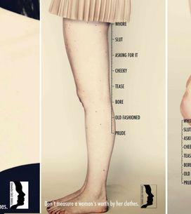 Puritana o prostituta? La campagna stampa che invita a non giudicare il valore d