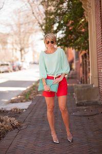 Diese Farben passen zusammen: Mint + Knallrot = Süß und trendy